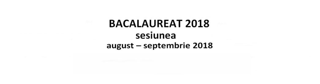 bac 2 – 2018